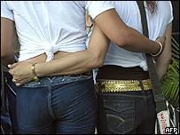 Una pareja gay en Cuba