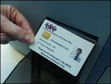 UK ID card from pilot scheme