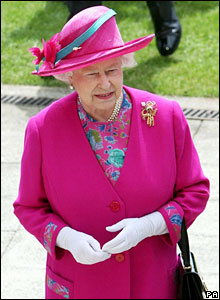 The Queen at Epsom
