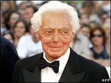 Dino Risi in 2002