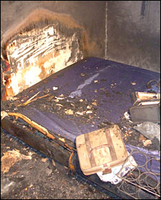 Burnt bed