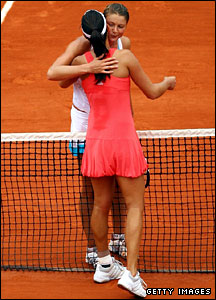 Dinara Safina and Ana Ivanovic