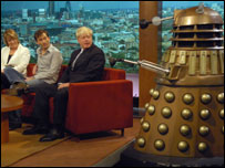 Guests with a Dalek