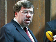 Irish PM Brian Cowen. File pic.