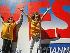 Fianna Fail's Yes campaign