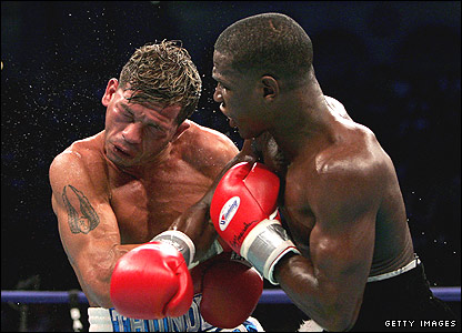 Floyd Mayweather and Arturo Gatti