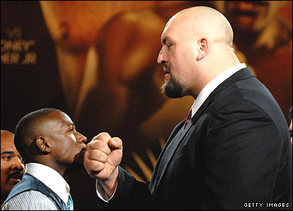 Floyd Mayweather and wrestling star Big Show