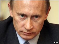 Russian PM Vladimir Putin. File pic.