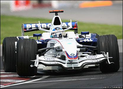 BMW Sauber's Nick Heidlfeld