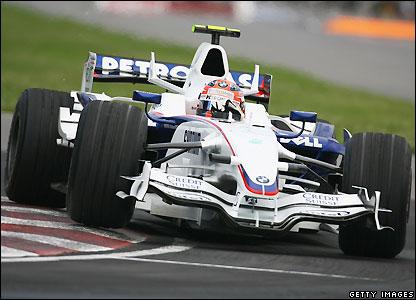 BMW Sauber's Robert Kubica