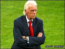 Poland coach Leo Beenhakker