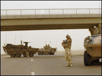جنود أستراليون في جنوب العراق