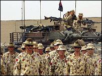 جنود استراليون في العراق