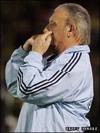 Argentina coach Alfio Basile