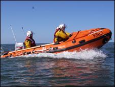 Redcar RNLI lifeboat Jacky Hunsley