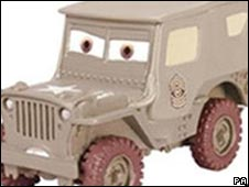 Sarge, from Mattel, one of the products withdrawn last year