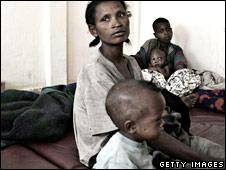 Ethiopian women and children