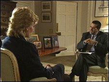 Martin Bashir interviews Princess Diana