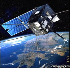 Demeter satellite (CNES)