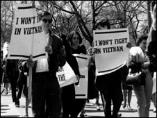 Anti-Vietnam protest in New York