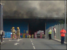 Recycle centre fire