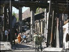 The Karl Marx mine in Yenakiyevo