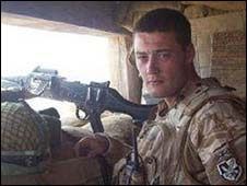 Pte Nathan Cuthbertson
