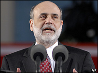 Presidente de la Reserva Federal de EE.UU., Ben Bernanke