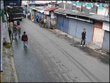 Strike in Darjeeling