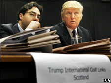 Donald Trump at the inquiry
