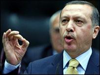 رئيس الحكومة التركية اردوغان