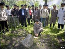 Panda funeral in China
