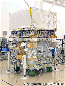 Glast spacecraft (Nasa/General Dynamics)