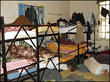 Dormitory at Camp Samos, camp was closed last year. Pic courtesy: ProAsyl