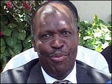 Late Kenyan Roads Minister Kipkalya Kones