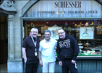 Chocolatier Stephan Shiesser