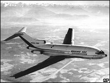 A Boeing 727. File photo