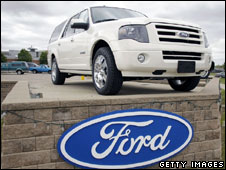 A Ford SUV
