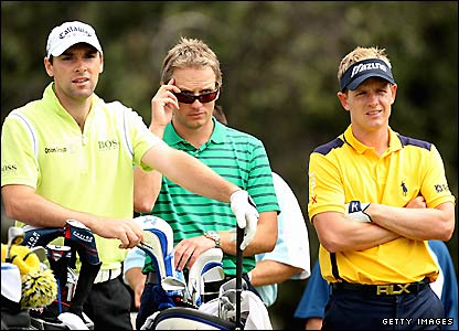Oliver Wilson and Luke Donald