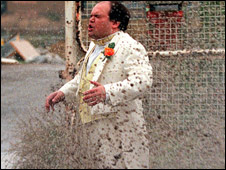 Eastenders disaster wedding