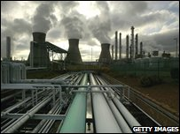BP Grangemouth petrochemical plant