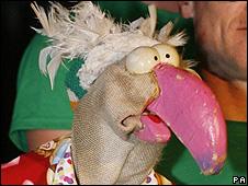 Dustin the Turkey at Eurovision