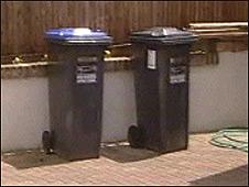 Bins in Haywards Heath