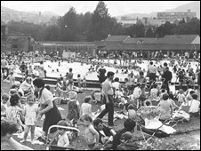 The lido in its heyday