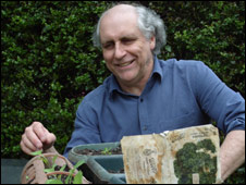 Denis Moore and his 40 year parsley seeds