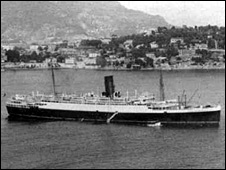 Lancastria (pic by Lancastria Association of Scotland)