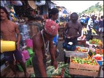 Mercado en Salvador de Bahía