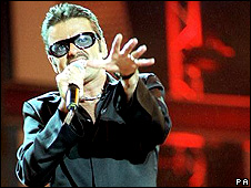 George Michael at Wembley Stadium