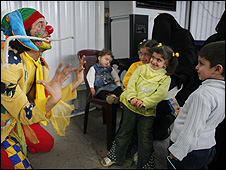 Clowns Without Borders (picture courtesy of Angela Catlin)