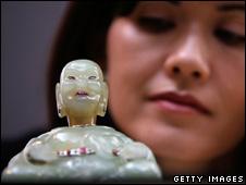 Faberge Buddha
